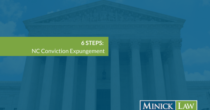 6 Steps: Get Conviction Expungement in Concord, North Carolina