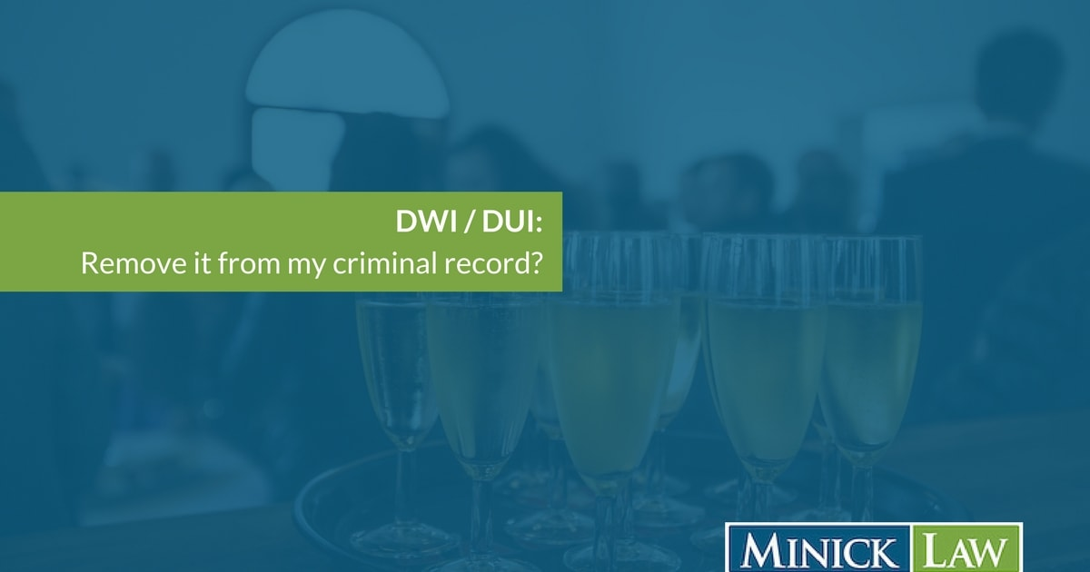 Can I Get a DWI Expungement in Durham, NC?
