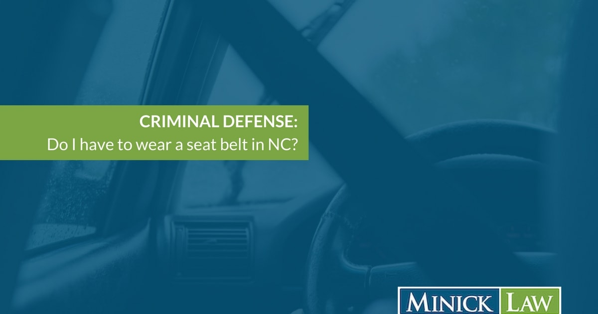 North Carolina Seatbelt Laws For Children And Adults