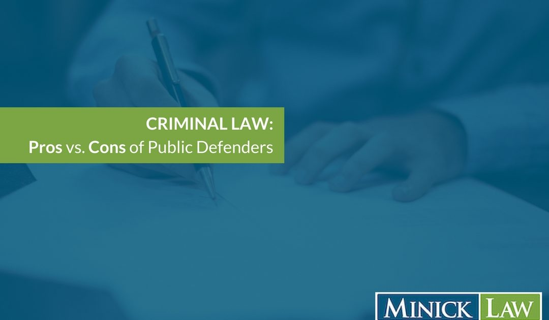 Advantages and Disadvantages of Public Defenders