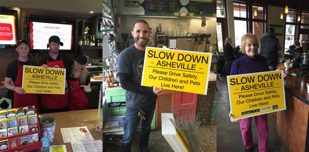 SLOW DOWN ASHEVILLE SPONSORS