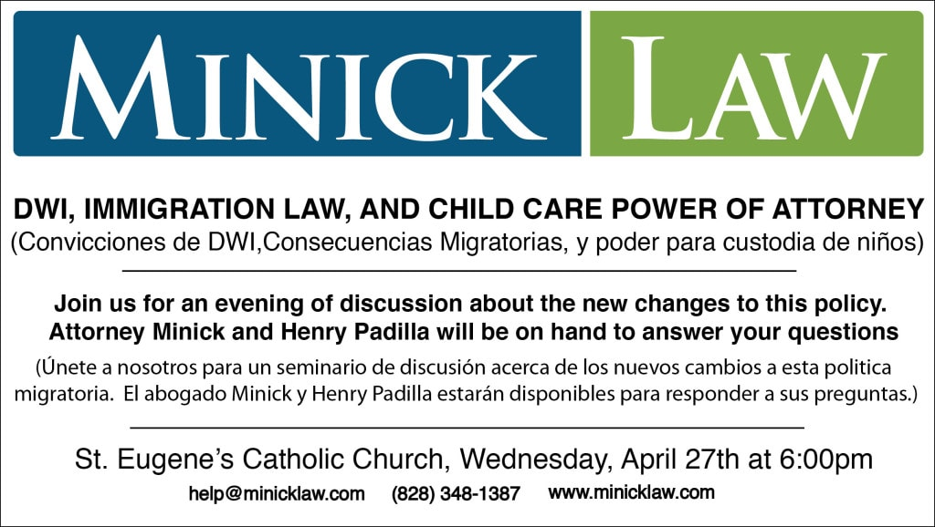 DWI, child custody law, and immigration law banner