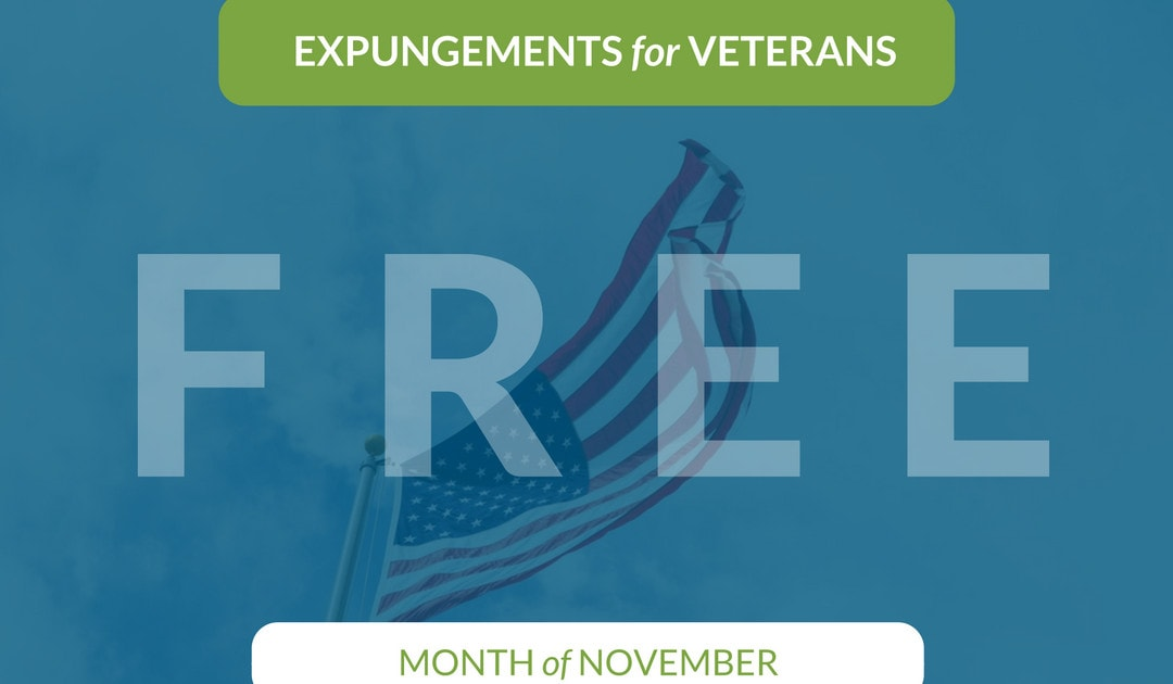 Expungements For Veterans