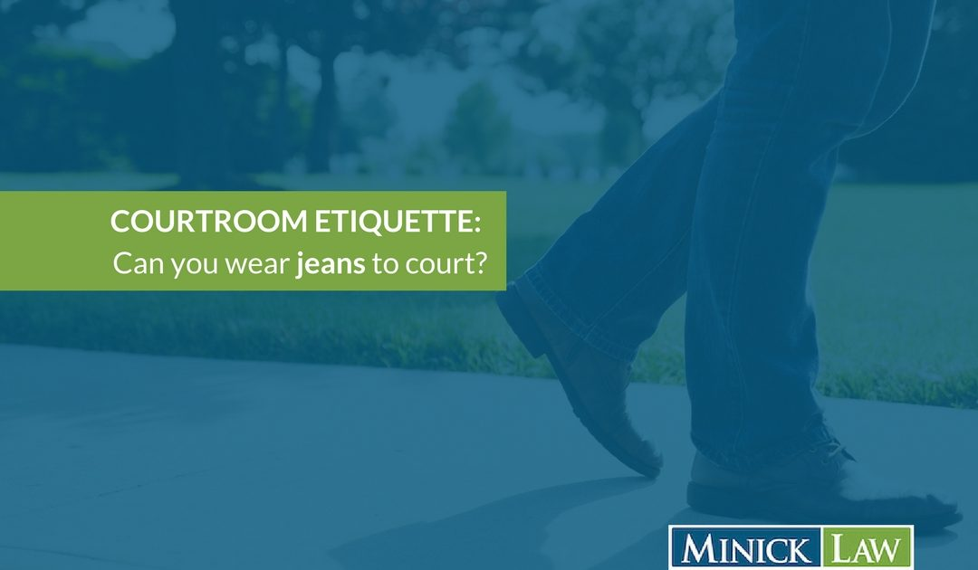 Can You Wear Jeans to Court?
