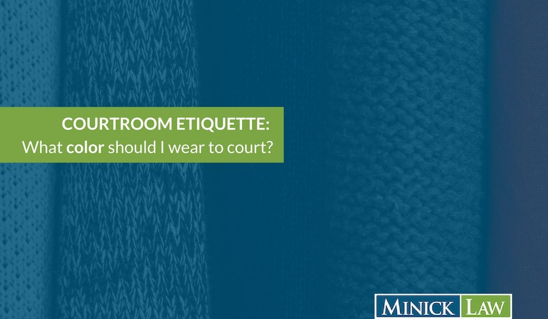What Color To Wear To Court