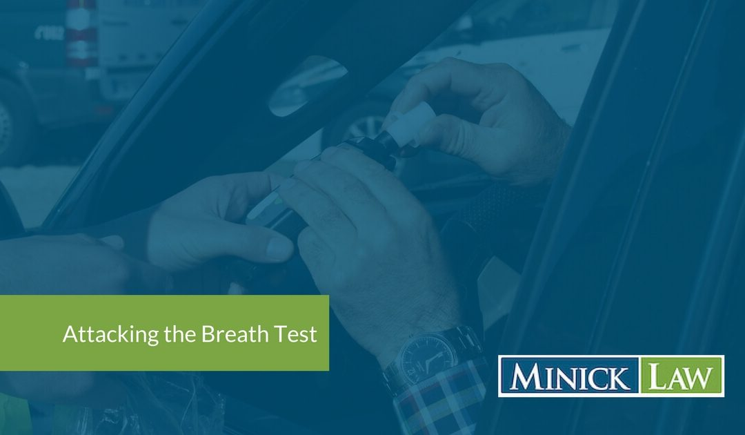 attacking the breath test