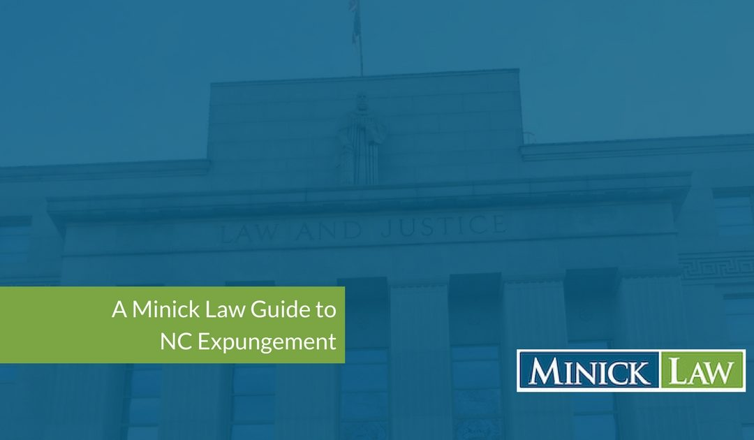 NC record expungement