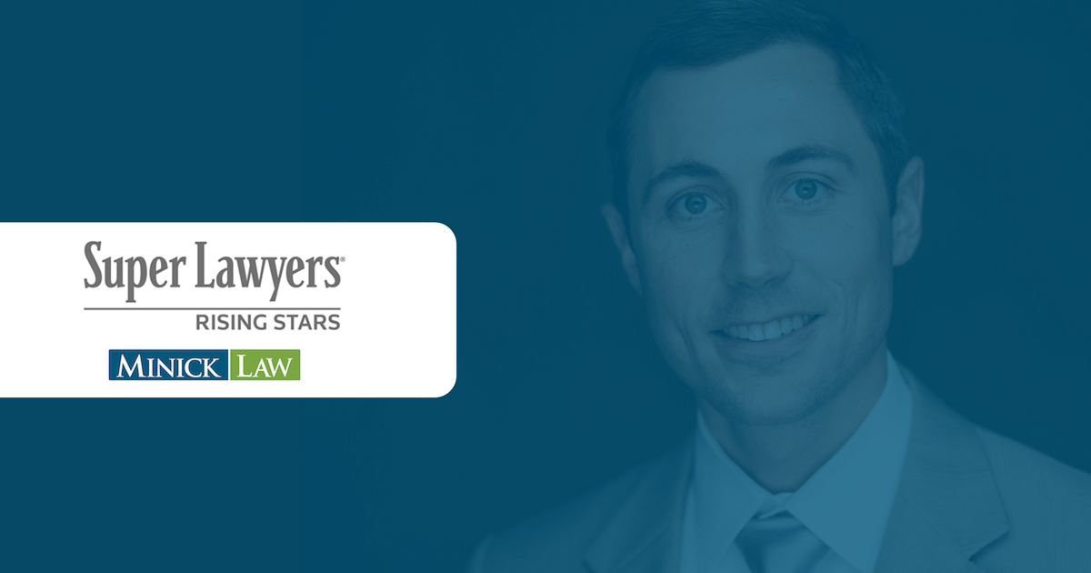 James Minick Super Lawyers Rising Star