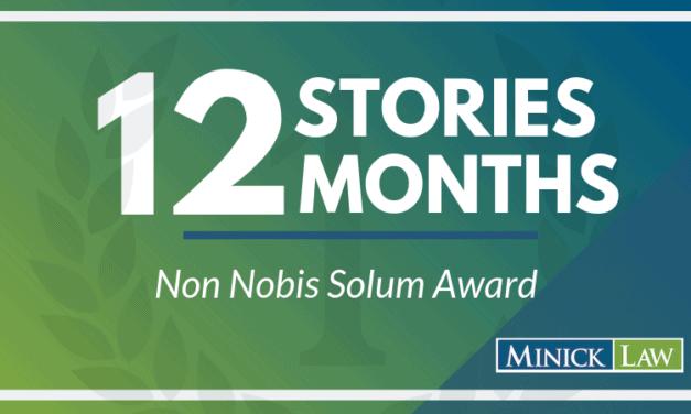 January Winner | Non Nobis Solum Award
