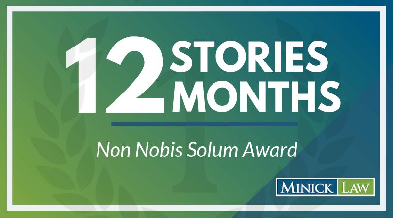 April Winner | Non Nobis Solum Award