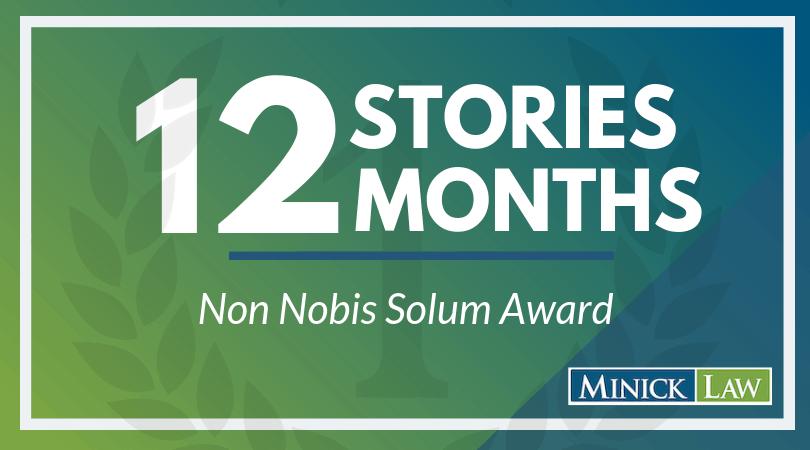 June Winner | Non Nobis Solum Award