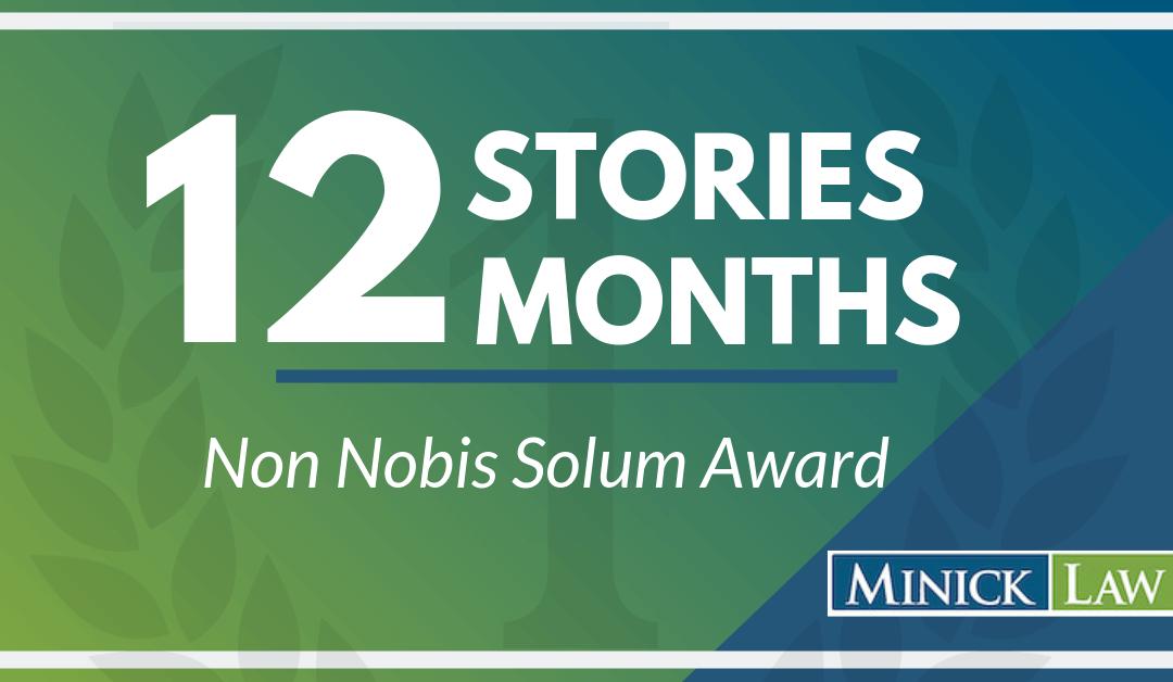 March Winner | Non Nobis Solum Award