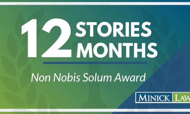 Non Nobis Solum Award |February Winner