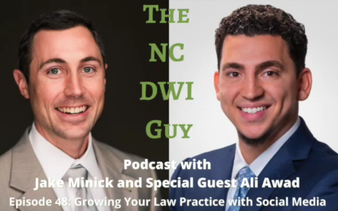 Episode 48: Growing Your Law Practice with Social Media Featuring Ali Awad