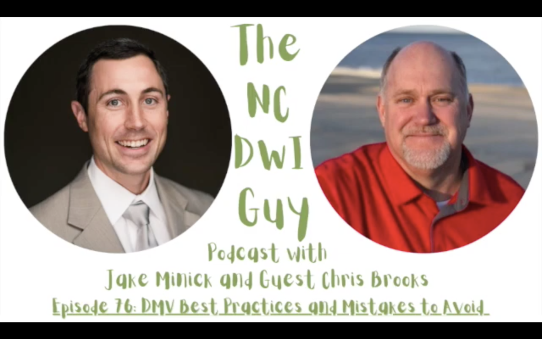 Episode 76: DMV Best Practices and Mistakes to Avoid with Chris Brooks